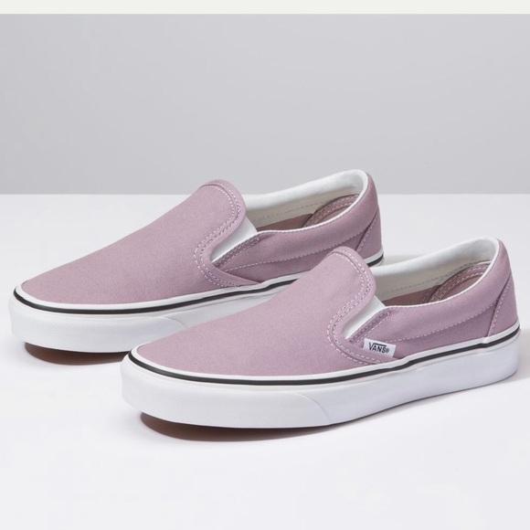 Vans Slip On Sea Fog Lavender Lilac